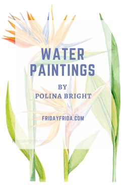 water paintings by polina bright