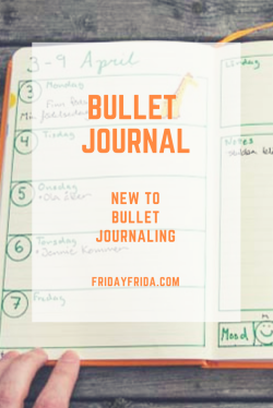 New to Bullet Journaling