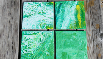 Acrylic Pour – Welcome!
